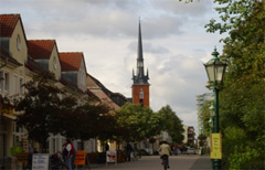 Innenstadt von Schwedt