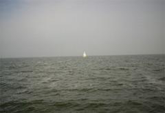 Seenebel zieht auf